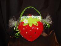 Клубничка (чайная сумочка)  - подарочный набор с чаем №40