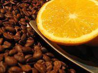 Апельсин - десертный кофе в зернах