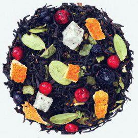 Северное сияние - индийский черный чай с натуральными растительными ингредиентами.