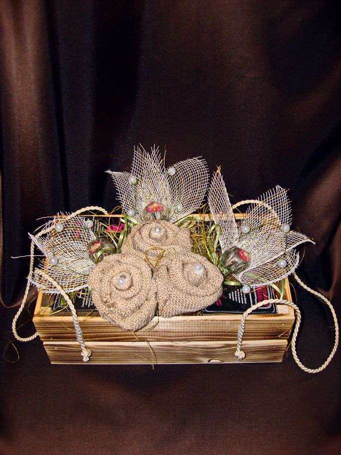 Жемчужина Эксклюзив - подарочный набор с кофе и чаем  №60
