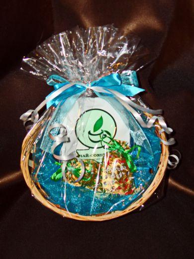Встреча - подарочный набор с чаем и конфетами